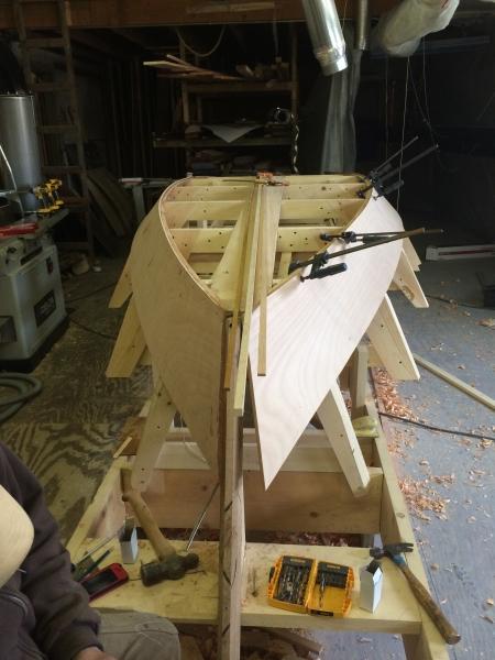 Friendship Catboat Construction | Buzzards Bay Yacht Services